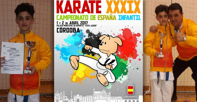 Nuestro-alumno-Aarón-Herrero-Linares-participa-en-el-39º-Camp.-España-Karate-Infantil
