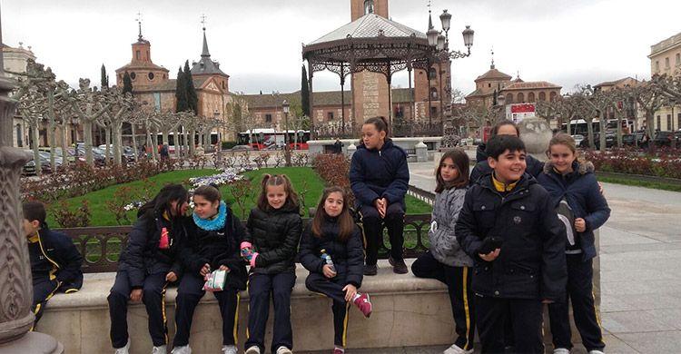 4º-Primaria-visita-Alcalá-de-Henares