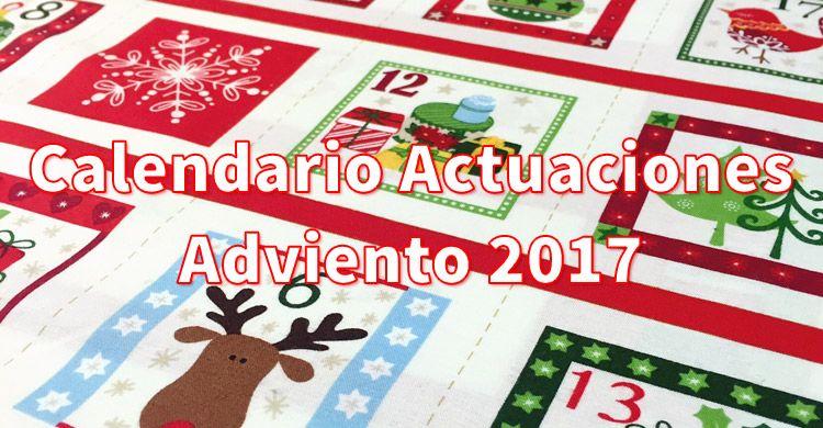 Calendario Adviento Infantil.Calendario Actuaciones Adviento Infantil Y Primaria 2017